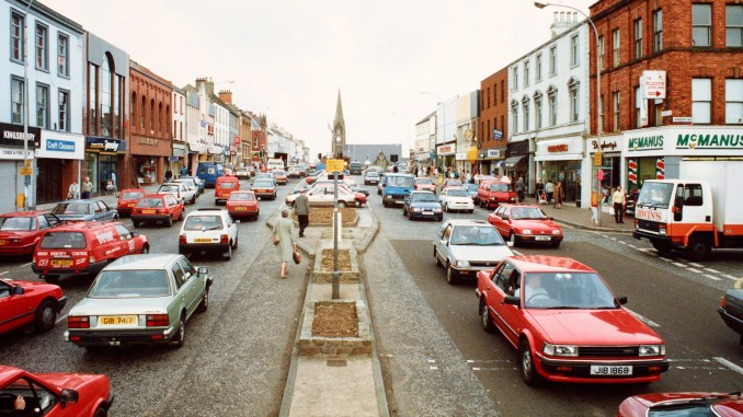 Lurgan High Street 1990