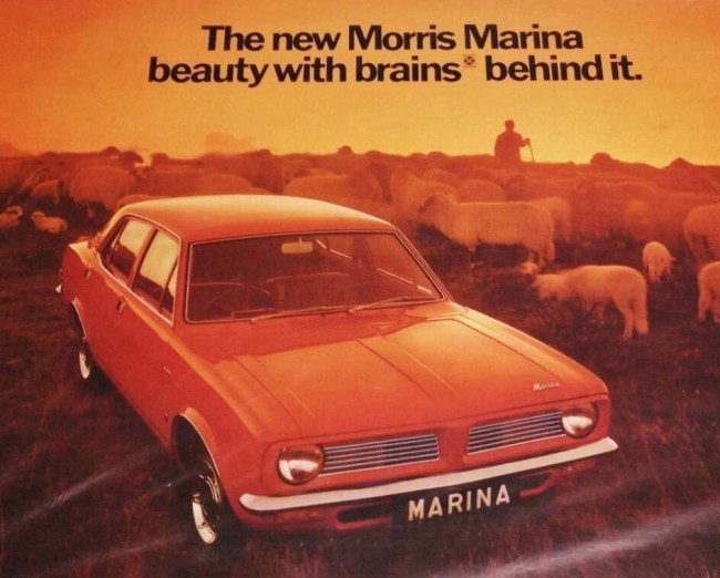 Morris Marina: Beauty with brains behind it