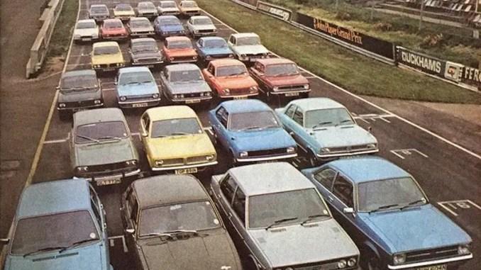 Morris Marina and its rivals, 1975