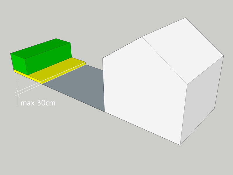 Garden office planning permission
