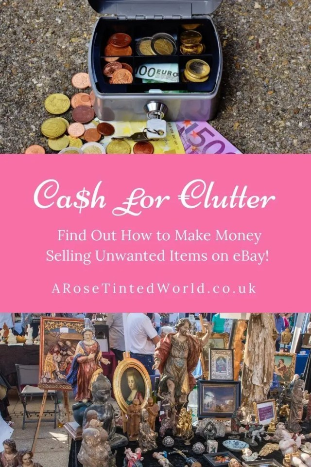 Making Money by selling your clutter on eBay