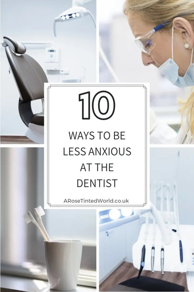 10 ways to be less anxious at the dentist-