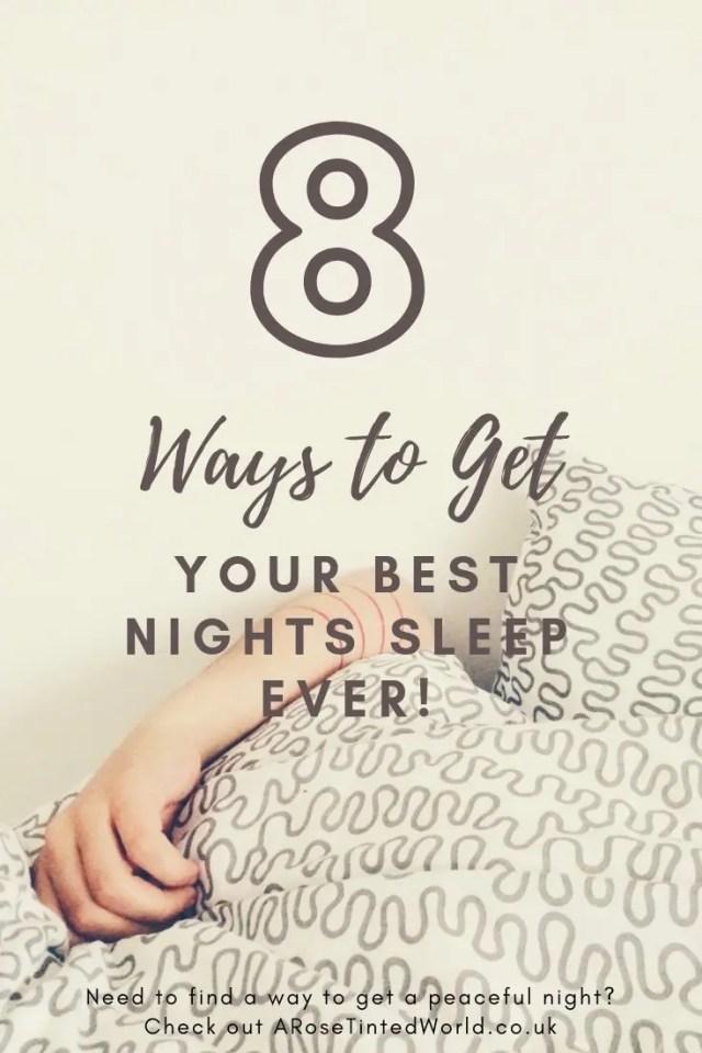 Best Ways to Get Quality Sleep