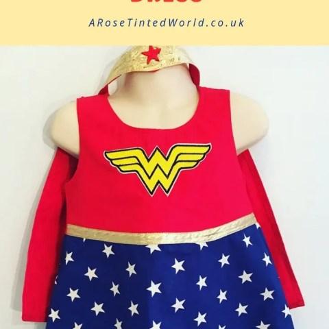 Making a Girl's Superhero Dress