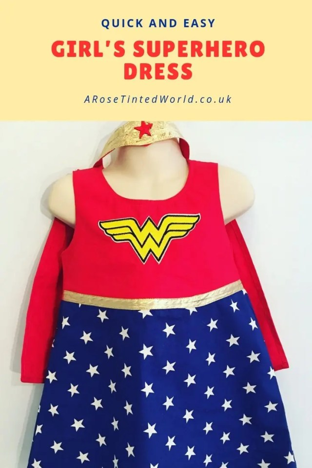Girl's Superhero Dress