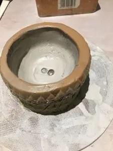 Painted pot werxovart