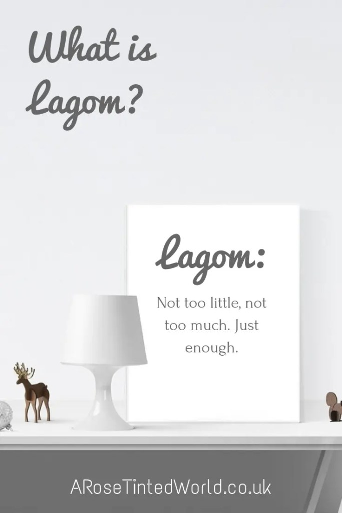 What is Lagom - A year to clear