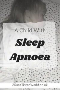 Child With Sleep Apnoea