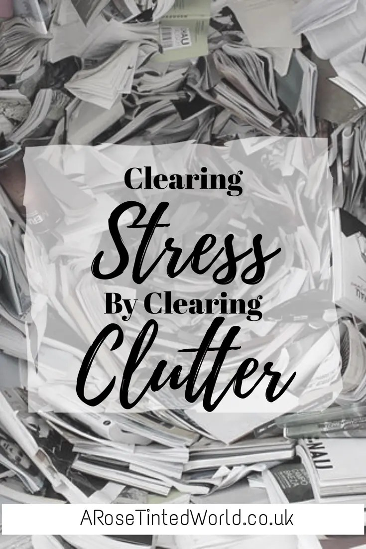 Clearing Stress by Clearing Clutter - Can clearing the clutter from your home relieve your stress? See what system I use to declutter my home #declutter #declutteryourhome #declutteringahouse #decluttering #declutteringtips #tidyhome #tidyhousetips #tidyhometips #tidyhabits #tidy #tidyingup #cleaningtips #cleanhouse #cleaningideas #cleaningtipsandtricks #organizedhome #organizationtips