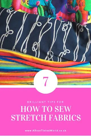 Top Tips fro Sewing With Stretch Fabrics