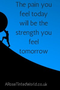 60 Positive Motivational Quotes - the pain you feel today will be the strength you feel tomorrow