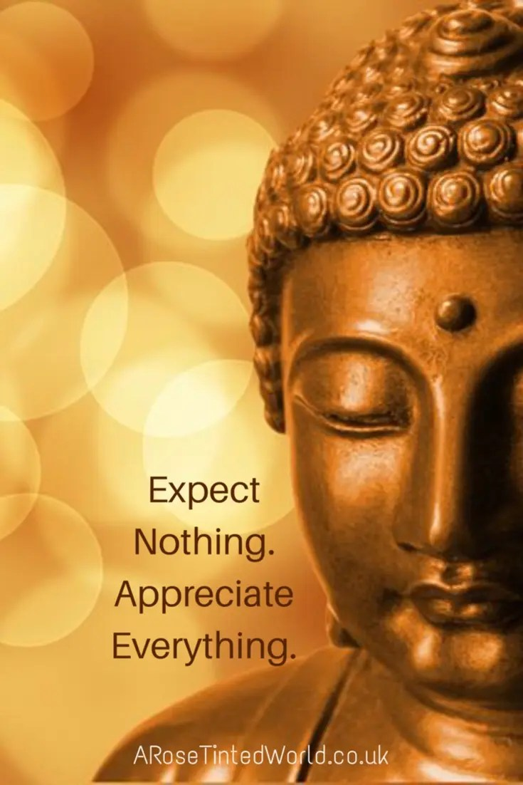 60 Positive Motivational Quotes - expect nothing, appreciate everything