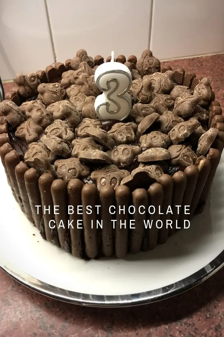 my happy list - picture of the best chocolate cake in the world