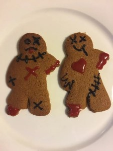 Gingerbread Men A Very 70s Halloween