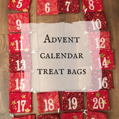 Advent Calendar Treat Bags