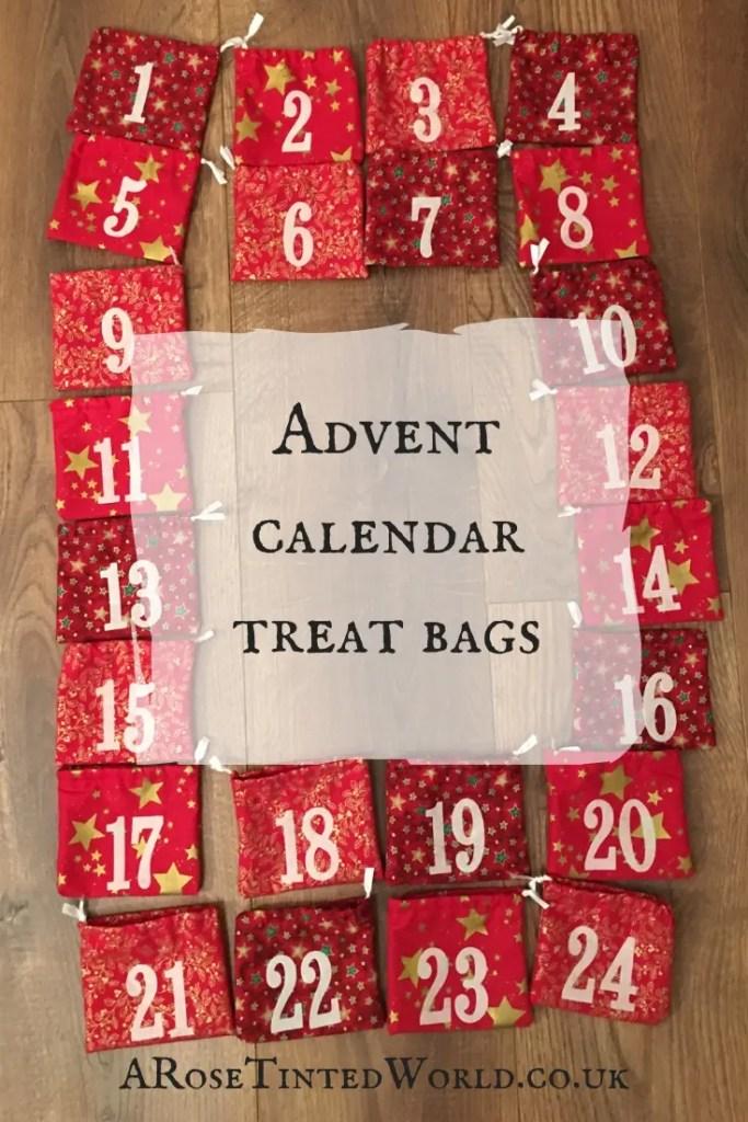 Advent Calendar Treat Bags