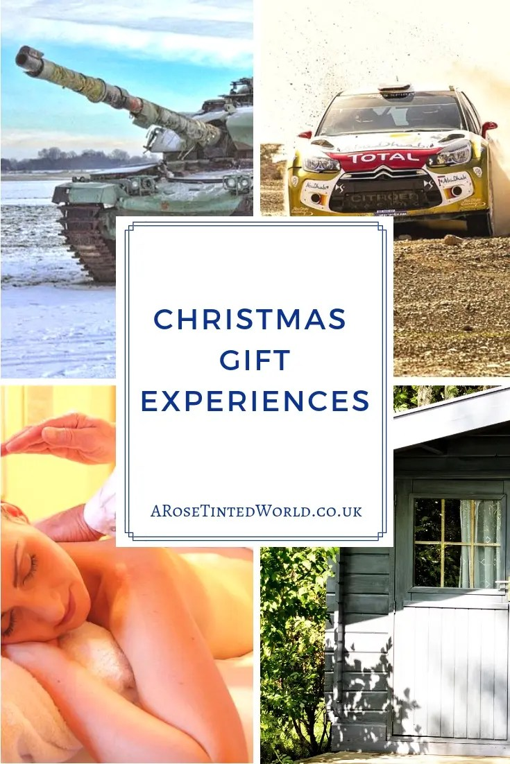 Christmas Gift Experiences - why not choose moments over things this year. Buying presents can be hard, and sometimes a waste of money. Why not buy the gift of an experience, which will be remembered and talked about for far longer. Here is a christmas gift guide with a difference #christmas #christmasgiftideas #christmasgiftexperiences #christmaspresents #christmasgift #christmasgifts #christmaspresentideas #giftexperiences #experiencegifts #experiencedays #christmasgiftguide