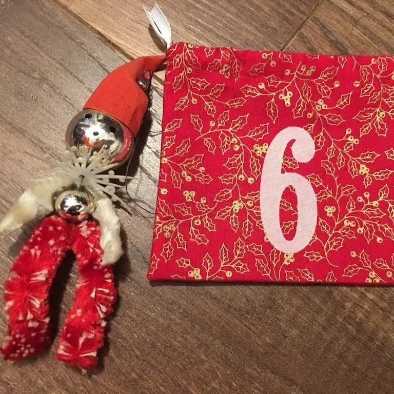 6th of December - advent bag