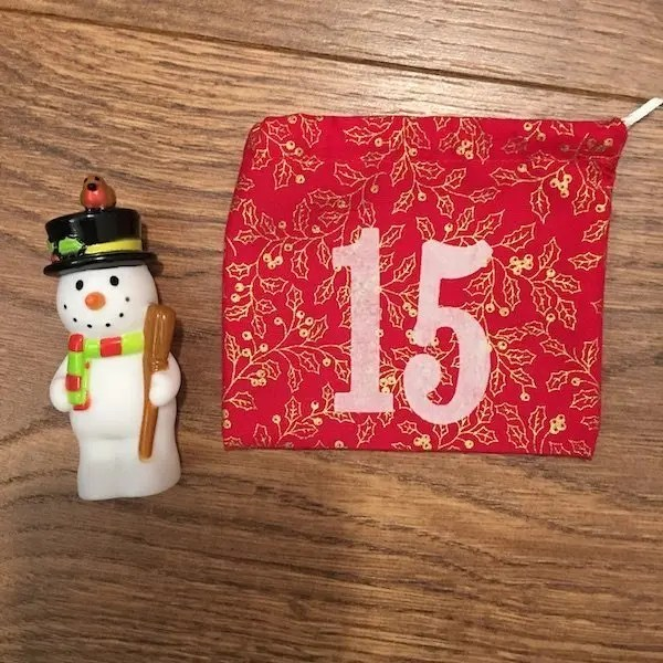 15th of December - advent bag