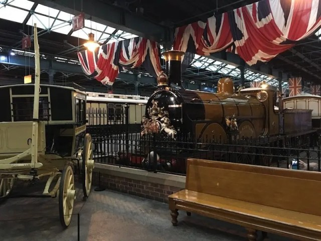 A Trip To York Railway Museum - station Hall