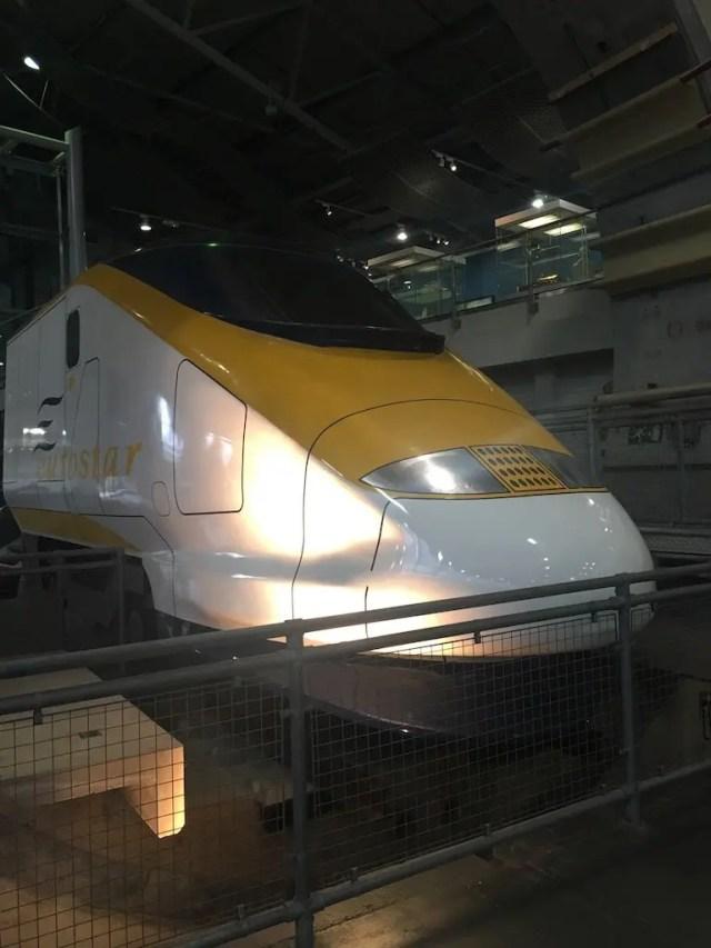 A Trip To York Railway Museum - Eurostar