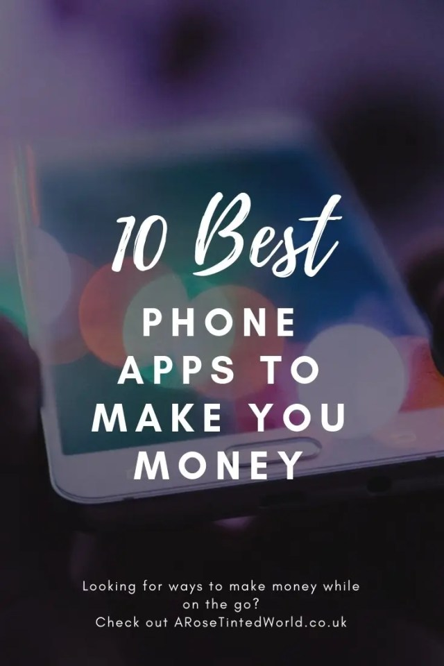 Phone Apps To Make You Money - here are some great apps that you can download on your phone to make money on the go both inside your house and whilst on the go. #makemoney #apps #appsmusthave #appstomakemoney #appsyouneed #makemoneyonline #moneymakingideas #moneymaking