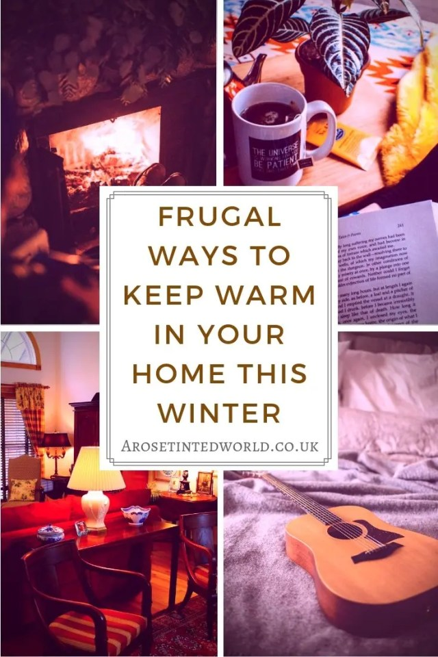 Looking for some cheap easy and above all frugal ways to keep warm in your home this winter