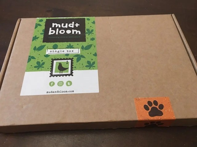 Mud + Bloom Subscription Box Review- box