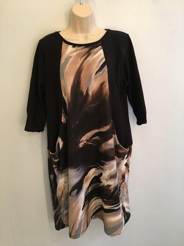 Sew Over It Heather Dress. - finish on model