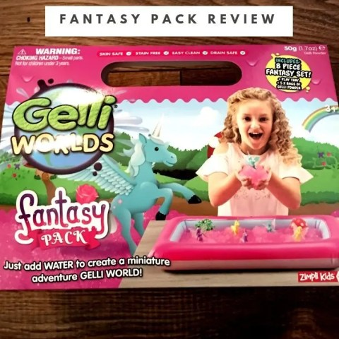 Zimpli Kids Gelli Worlds Fantasy Pack Review