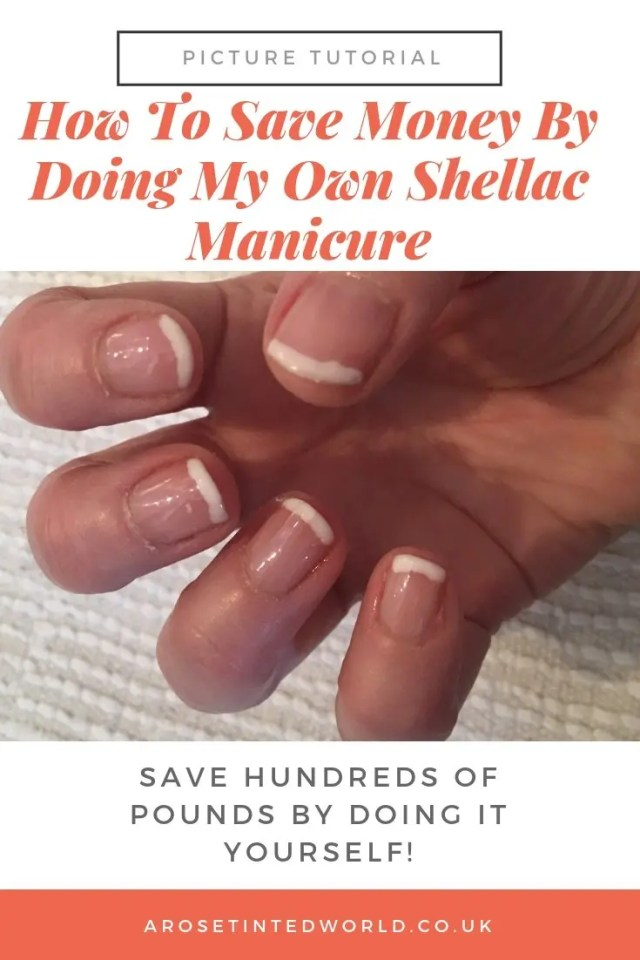 Doing My Own Shellac Manicure