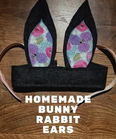 Homemade Bunny Rabbit Ears