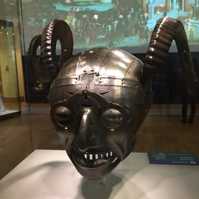 Leeds Armouries Horned Helmet