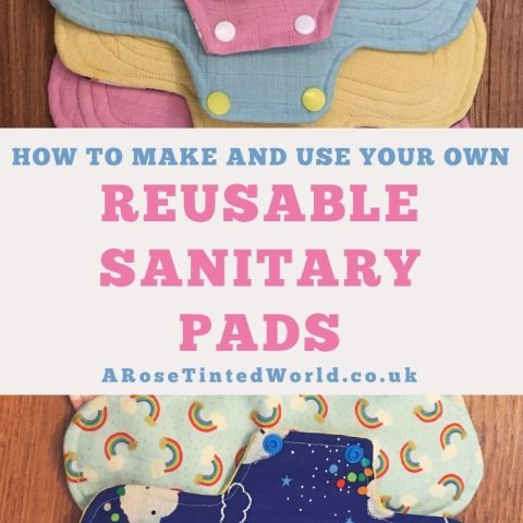 Reusable Sanitary Pads – How To Make And Use Them