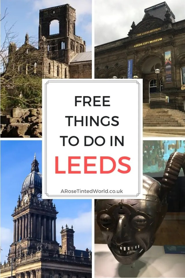 Free Things To Do In Leeds ⋆ Ideas for days out in Leeds that are free and cheap. Entertainment, museums, activities, playgrounds, parks, farms, gardens. Children day trip. Yorkshire Activities. #yorkshire #freedaysout #dayoutleeds #trips #dayout