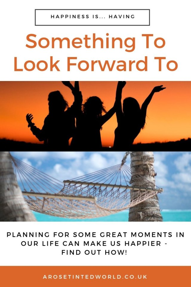 Having Something To Look Forward To - Experts agree that having something to look forward to is a real mood boosting tool. Find out some ways that you can do this, even on a tight budget. Stress relief, anxiety mood lifting exercises. Happiness improving ideas tips and hacks. Friendships. #Stressrelief #moodimprovement #stressbusting #happiness #moodbooster #stressbuster #moodlifting