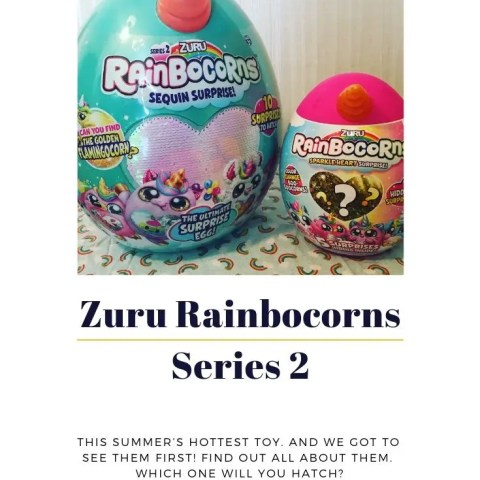 The Zuru Rainbocorns – Series 2