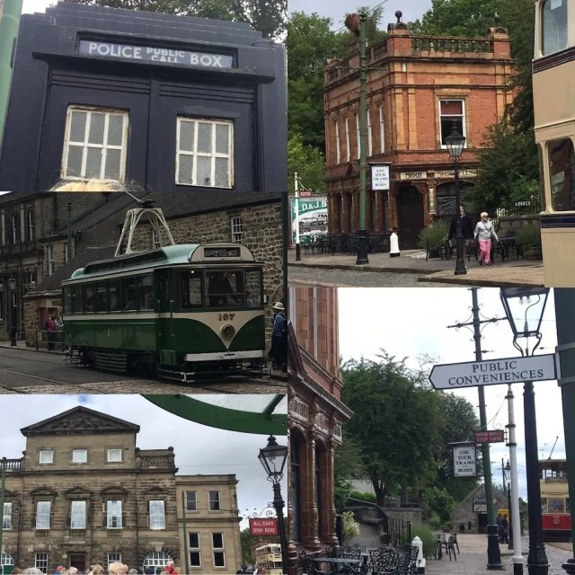 Period Street Features - Crich Tramway Museum