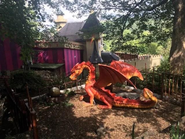 Dragon Figure at Gulliver's Kingdom