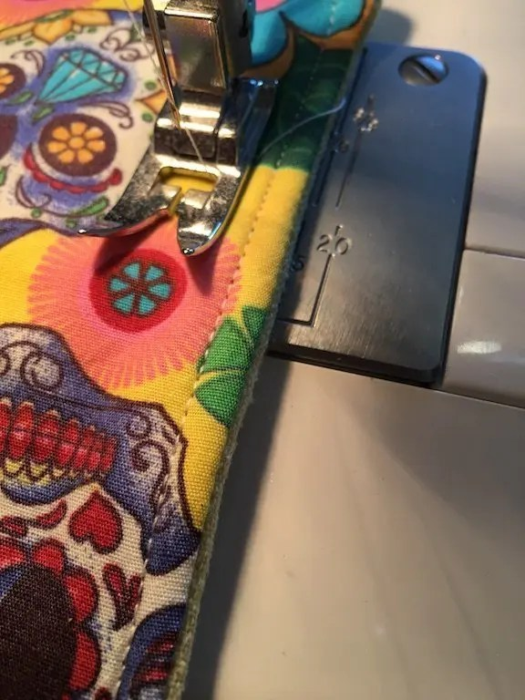 Quilting the pad