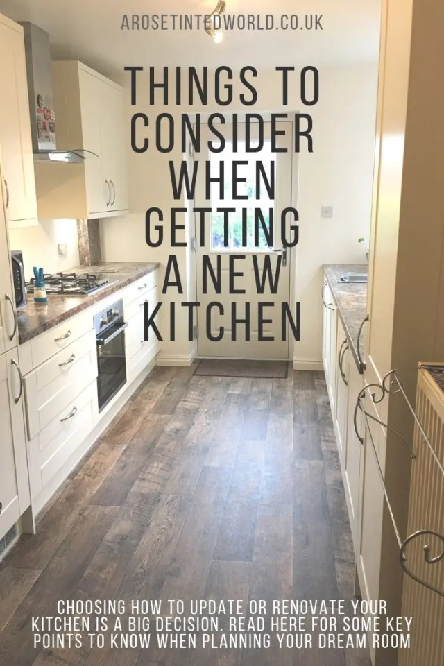 Things to Consider When Getting A New Kitchen - choosing how to remodel or renovate a kitchen can be a large decision fraught with pitfalls. Here are some good ideas for how to plan your dream kitchen space. #kitchen #kitchenspace #kitchendesign #kitchenideas #kitchenremodel #kitchendecor #kitchencabinets #kitchenstorage #kitchenorganization #kitchenrenovation #kitchenrenovationideas #kitcheninspiration