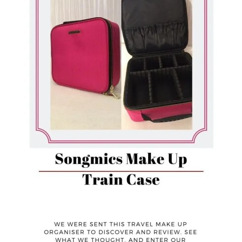 Songmics Make Up Train Case – Our Review And Giveaway!
