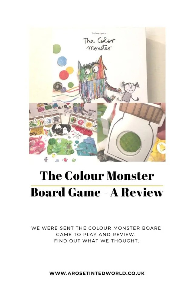 The Colour Monster Board Game - we were sent a copy of this game to play and Review. See what we thought. It is based on the popular book about the color monster as he discovers his emotions. A collaborative game that encourages a childs storytelling and memory. Gentle exploration of emotions #boardgame #thecolormonster #thecolourmonster #boardgames #gamestoplay #gamesforkids
