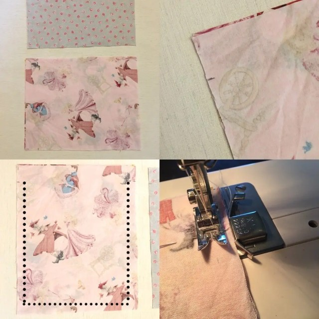 Method 1 part 1 - sewing a drawstring bag