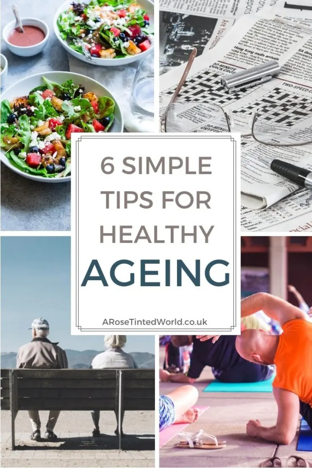 6 simple tips for healthy ageing