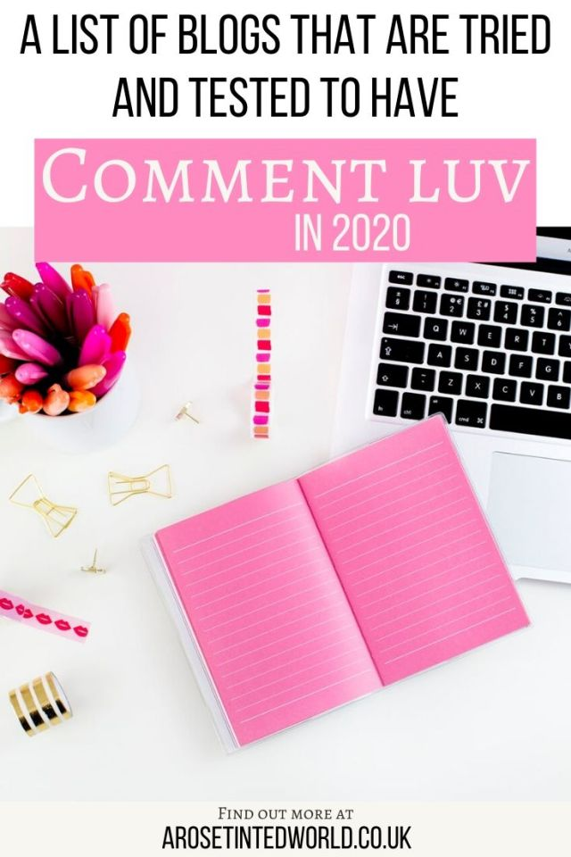 List of Comment Luv Blogs - Comment Luv is a plugin used on some blogs. By commenting on these, you may get a link back to your blog. This is a current, tried and tested link of these backlink blogs that works. I personally have tried all these. #commentluv #commentluvblogs #backlinks #blog #blogs #bloggingtips #bloggingforbeginners #blogtips #blogging #seotips #seotools #commentetiquette