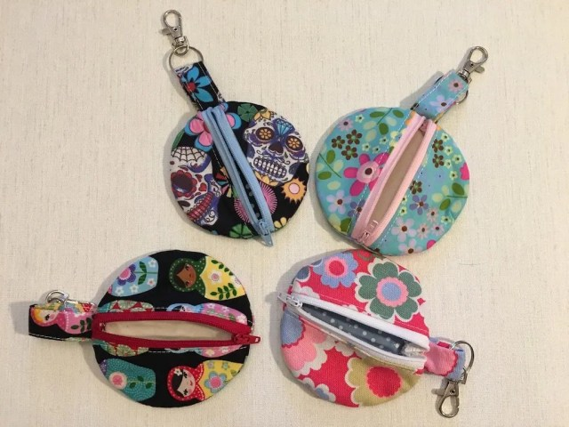Ear phone zipper pouch - homemade gifts for mother's day