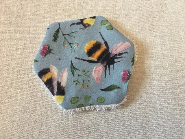 Making a Make Up Remover Pad 4