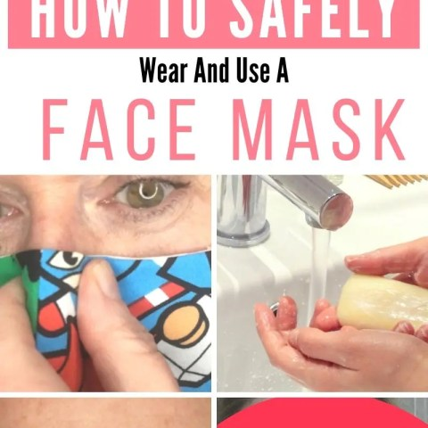 How To Safely Wear A Face Mask