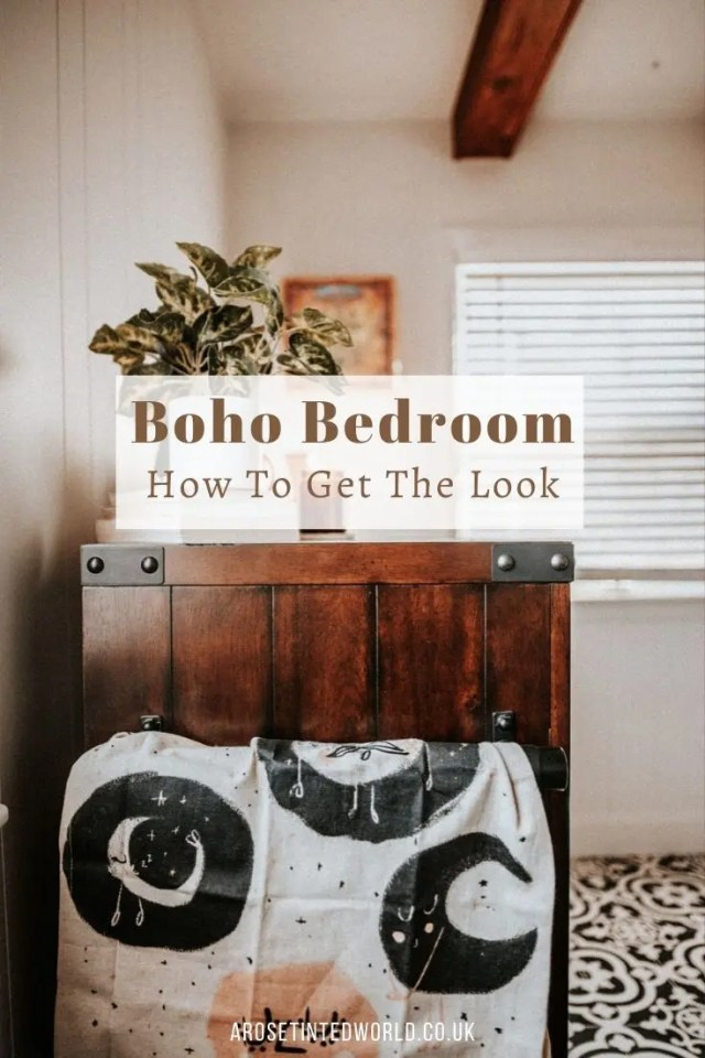 Bohemian Bedroom Decor - ideas on how to achieve a boho look for your boudoir. With neutral eclectic accessories & shades, you are sure to feel relaxed. Neutral shades, eclectic accessories, comfy throws and cushions, solid wooden floors and stripped distressed furniture. #bohostyle #boho #bohodecor #bohochic #bohobedroom #bohemianstyle #bohemianbedrooms #bohemiandecor
